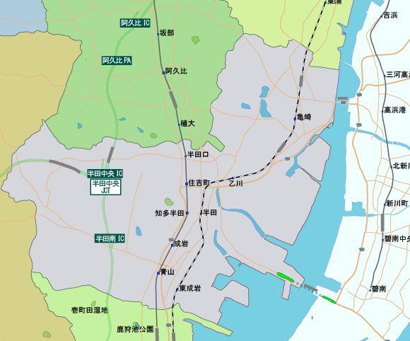 地元のうわさ 愛知県 半田市